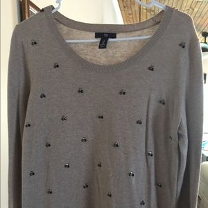 GAP Jeweled Sweater